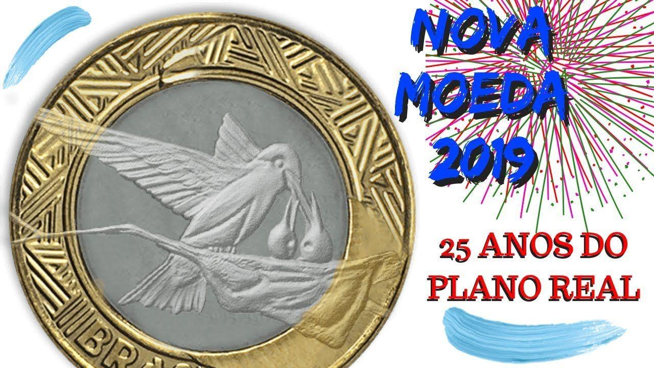 Nova Moeda De 1 Real Comemorativa Aos 25 Anos Do Plano Real 1994