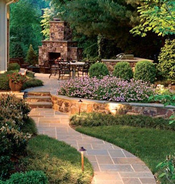 Low Maintenance Long Narrow Garden Design