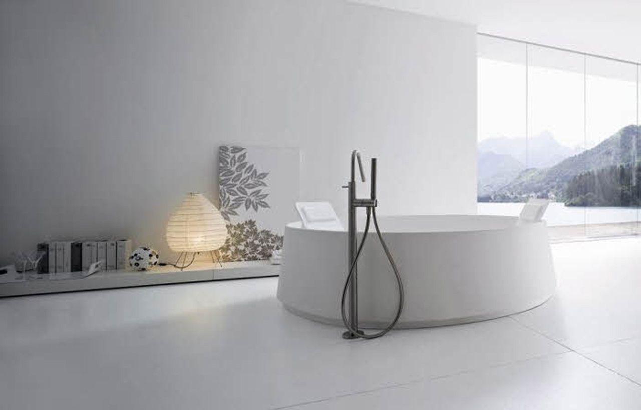 Photo gallery modern bathroom design with beautiful lamp decor | La ...