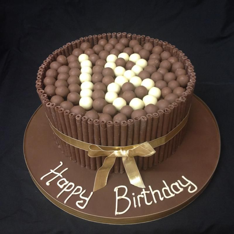 Chocolate ball 18th birthday cake ideas cakes for 18th birthday cake decoration ideas