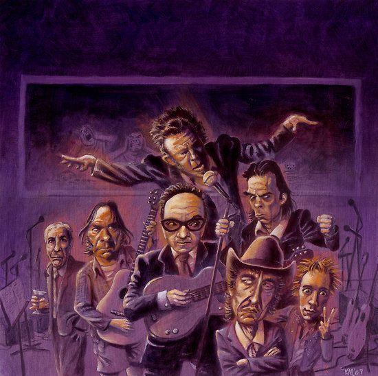 Και στη μουσική τα πράγματα πρέπει να μπαίνουν στην θέση τους: Nick Cave Vs. Elvis Costello