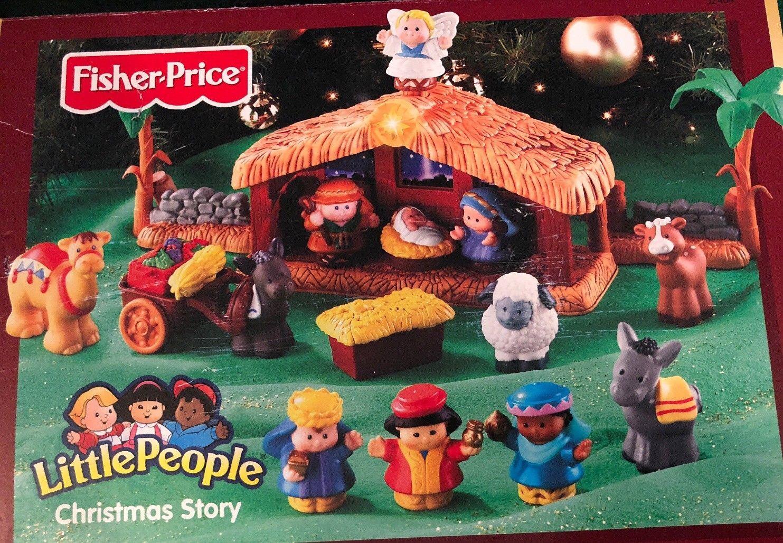 Fisher Price Little People Nativity Light Sound Christmas Story 18