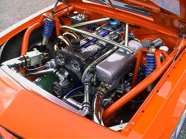 Nice intake manifold work on Ronnie Hilmersson's Opel ...