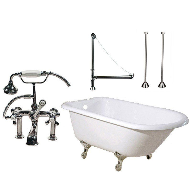 Randolph Morris 60 Inch Clawfoot Tub Package with British Telephone ...
