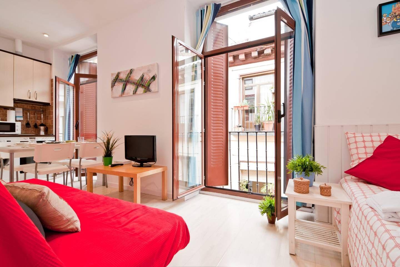 Estudio en Sol! Apartamentos en alquiler en Madrid