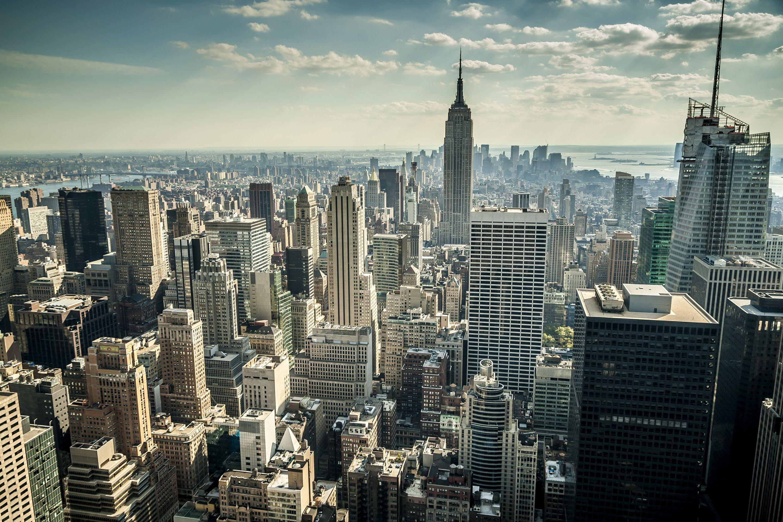 Обои небоскребы, сша, new york, здания. Города foto 10