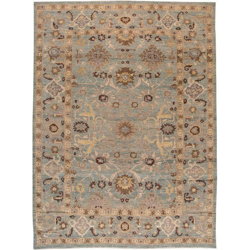 Persian Sultanabad Rug 12 5 X 16 9 Sultanabad Rug Rugs Rugs On Carpet