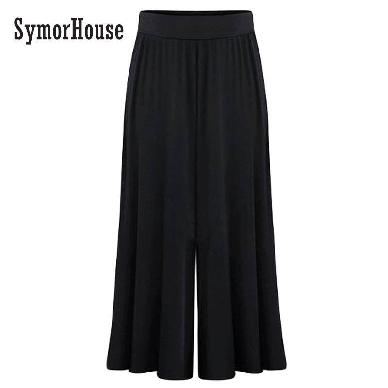 Plus Size Xl 6xl Women Wide Leg Loose Dress Pants Plus Size Xl