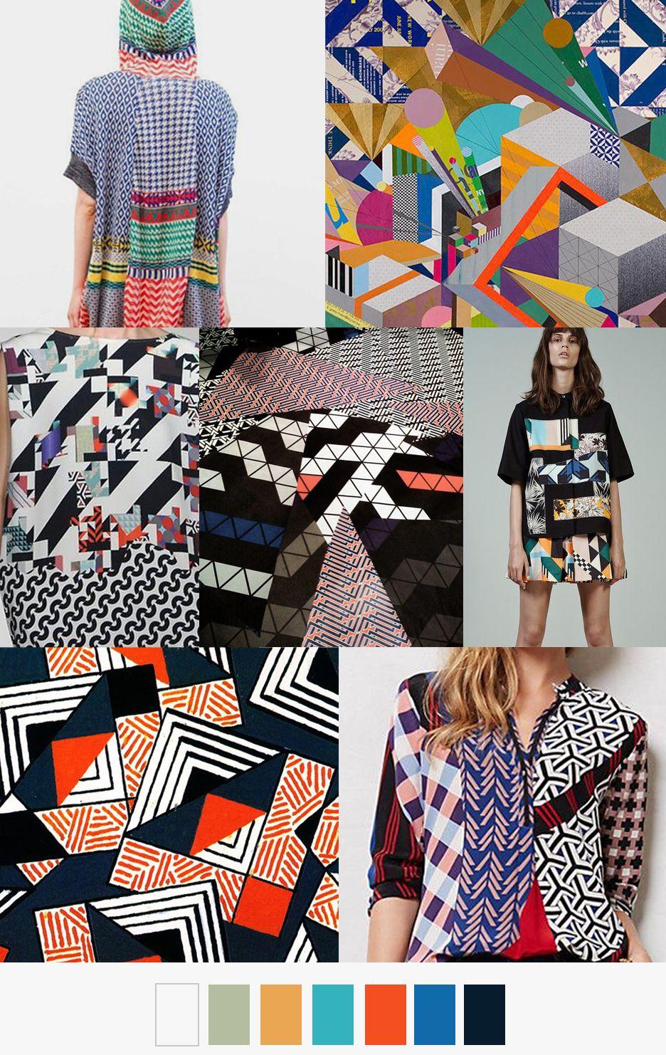 ¡Estampados con estampados! na tendencia única y creativa #Style #Tendencias…