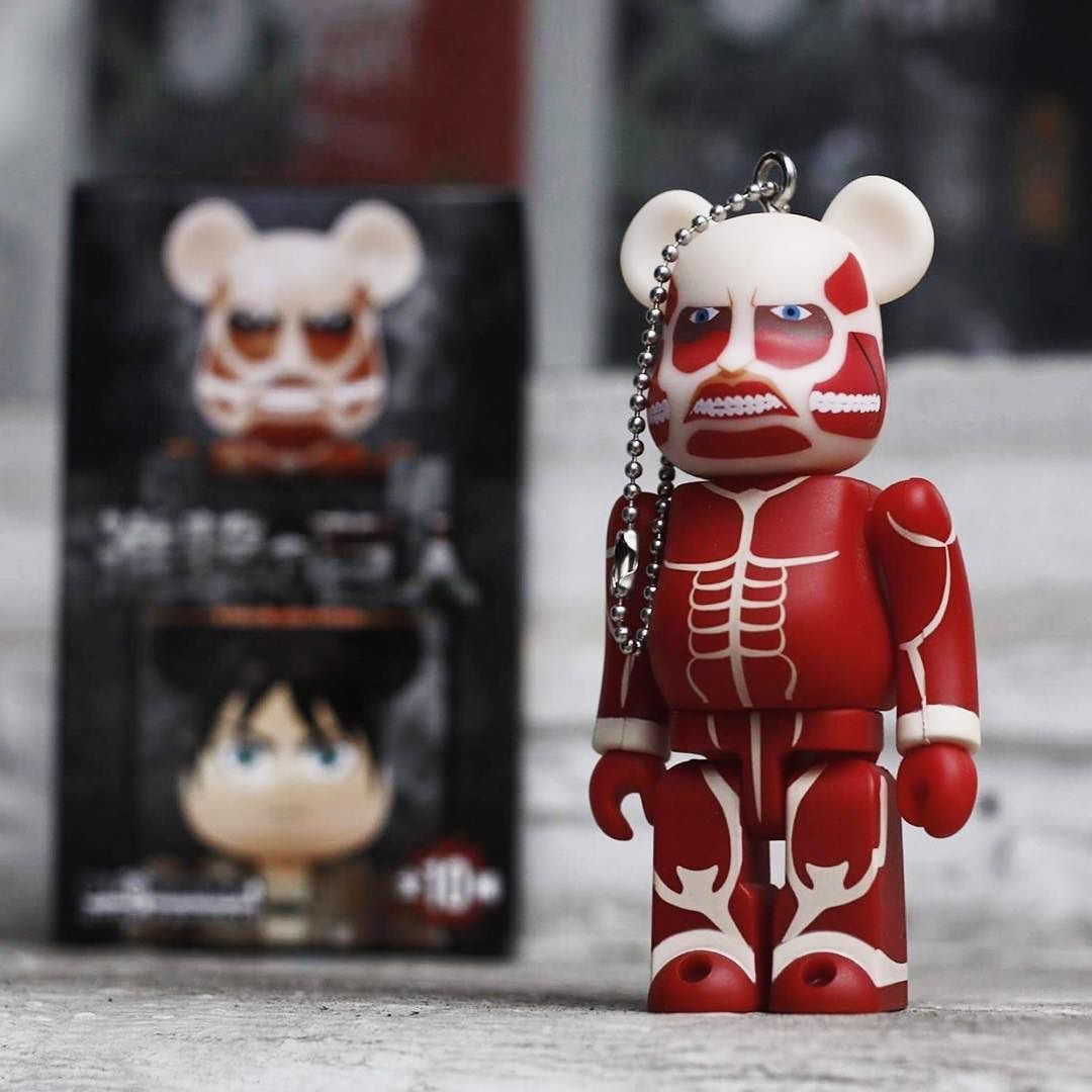 0f0b59bf Shop today to save 10% off the Attack On Titan Bearbrick Blindbox Keychains  from Medicom! Dailydeals get spookier closer to Halloween! Mwuahaha!