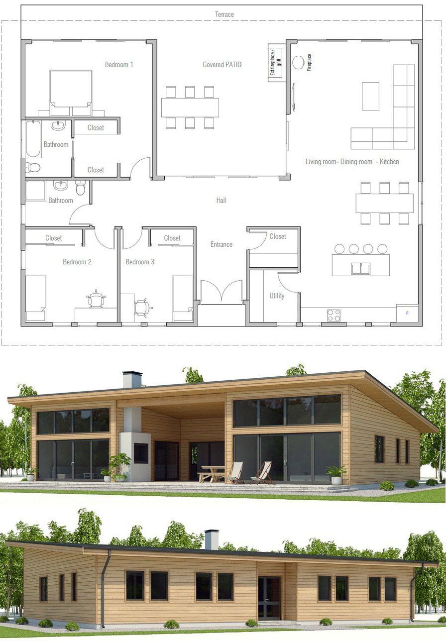 Plan De Maison #plandemaison #maison