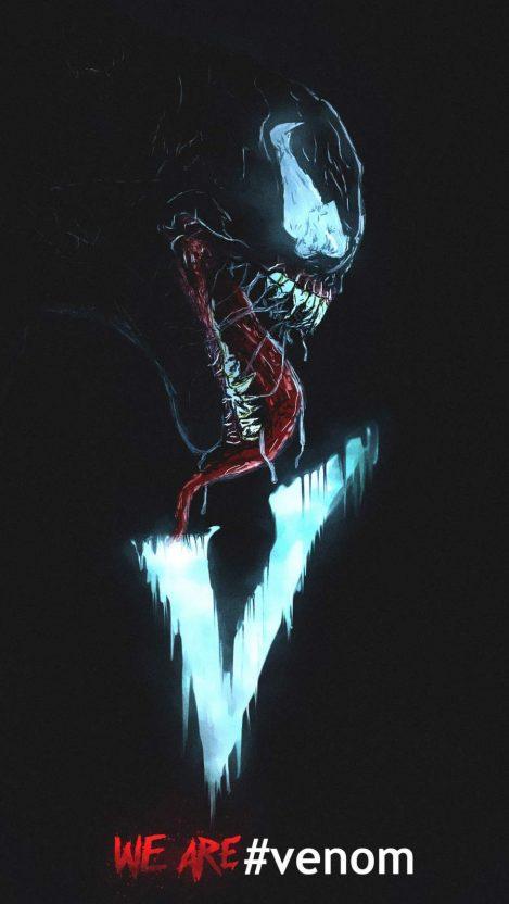 Spiderman X Venom 4k iPhone Wallpaper in 2020 Iphone