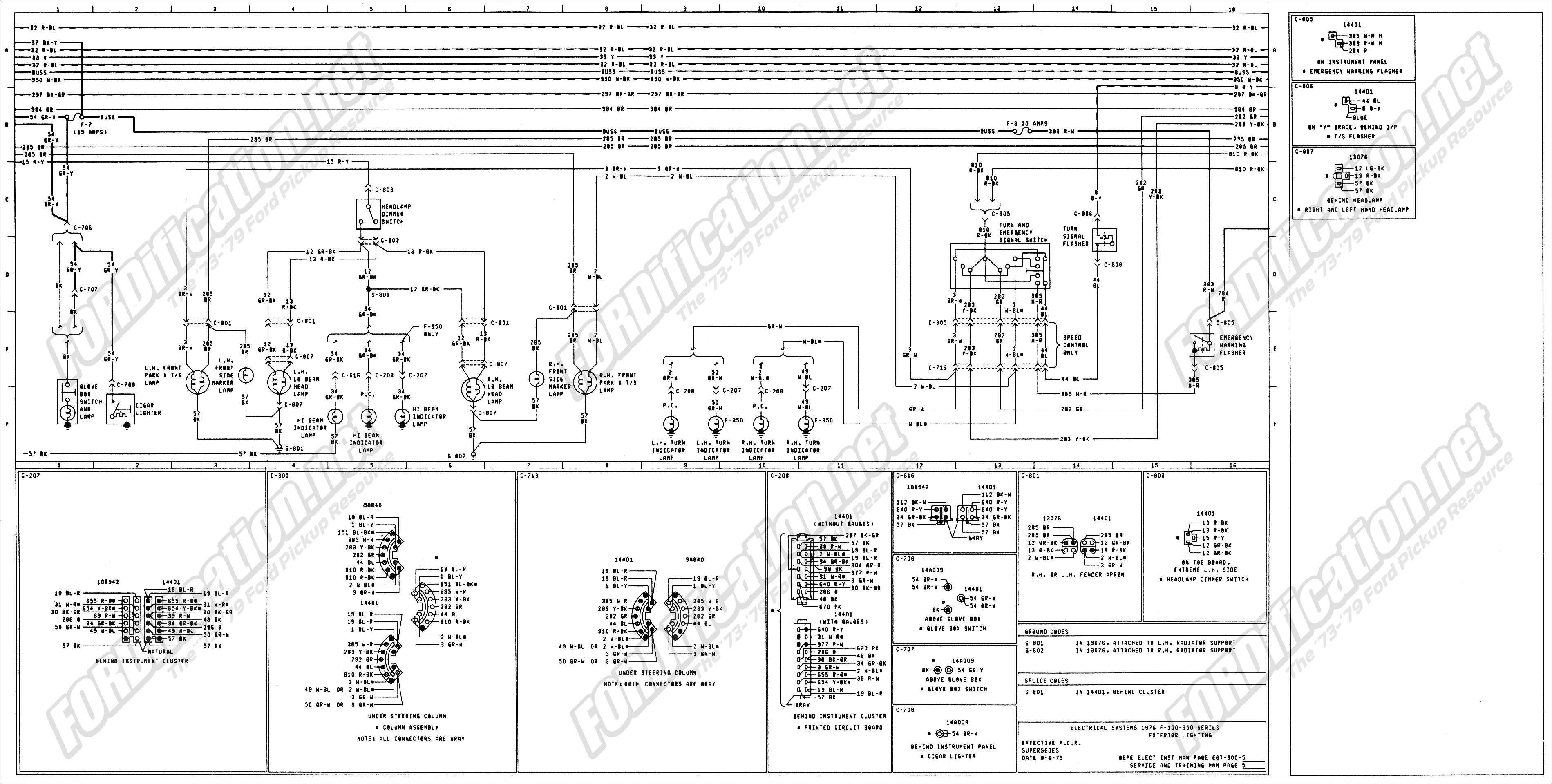 Ford F250 Wiring Diagram For Trailer Light | F250, Diagram ...