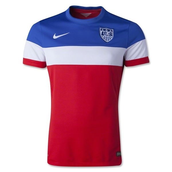 5725480e2 USA 2014 Authentic Away Soccer Jersey - WorldSoccerShop.com  180.00 with  name and number