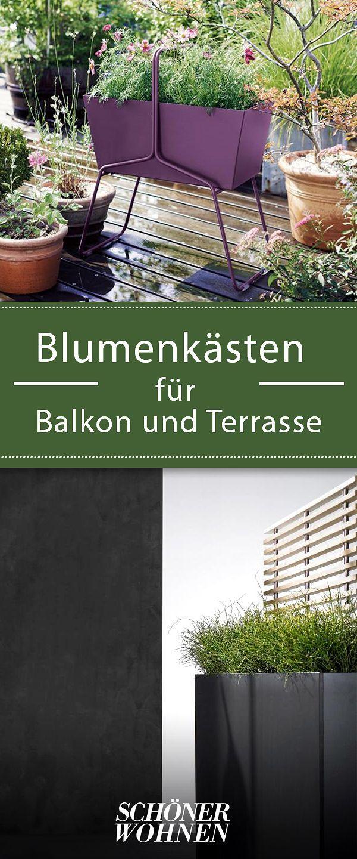 blumenk sten f r balkon und terrasse balkon umgestalten. Black Bedroom Furniture Sets. Home Design Ideas