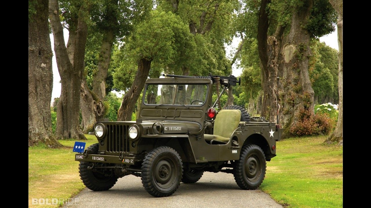 Willys m38 military jeep