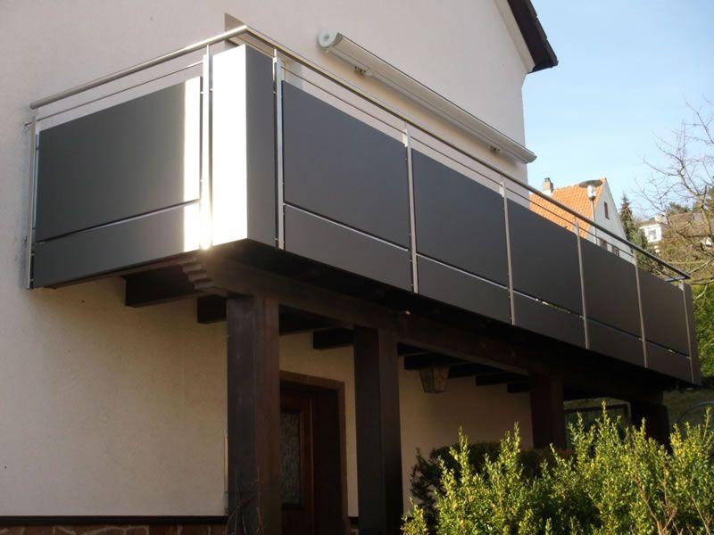 bildergebnis f r blech balkongel nder balkon auswahl pinterest balkongel nder blech und z une. Black Bedroom Furniture Sets. Home Design Ideas