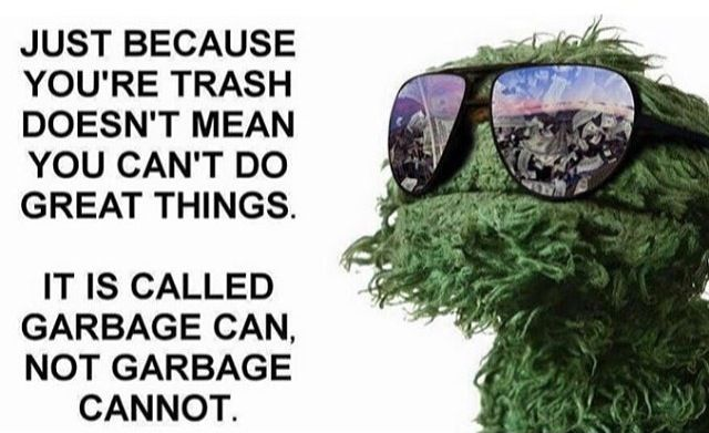 It Is Called Garbage Can Not Garbage Cannot Sesame