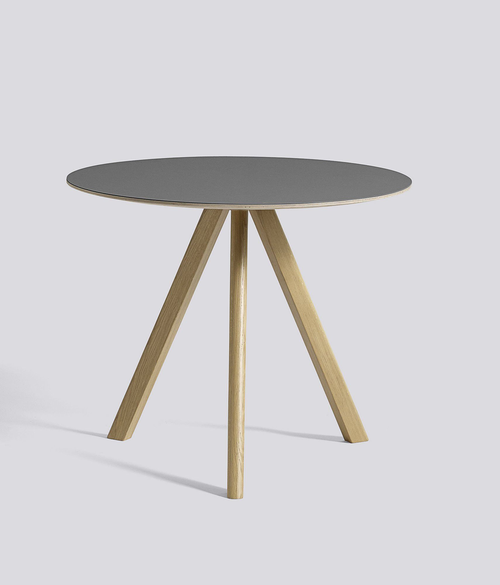 Copenhague Table Round Cph20 Tisch Rund Hay Furniture Table