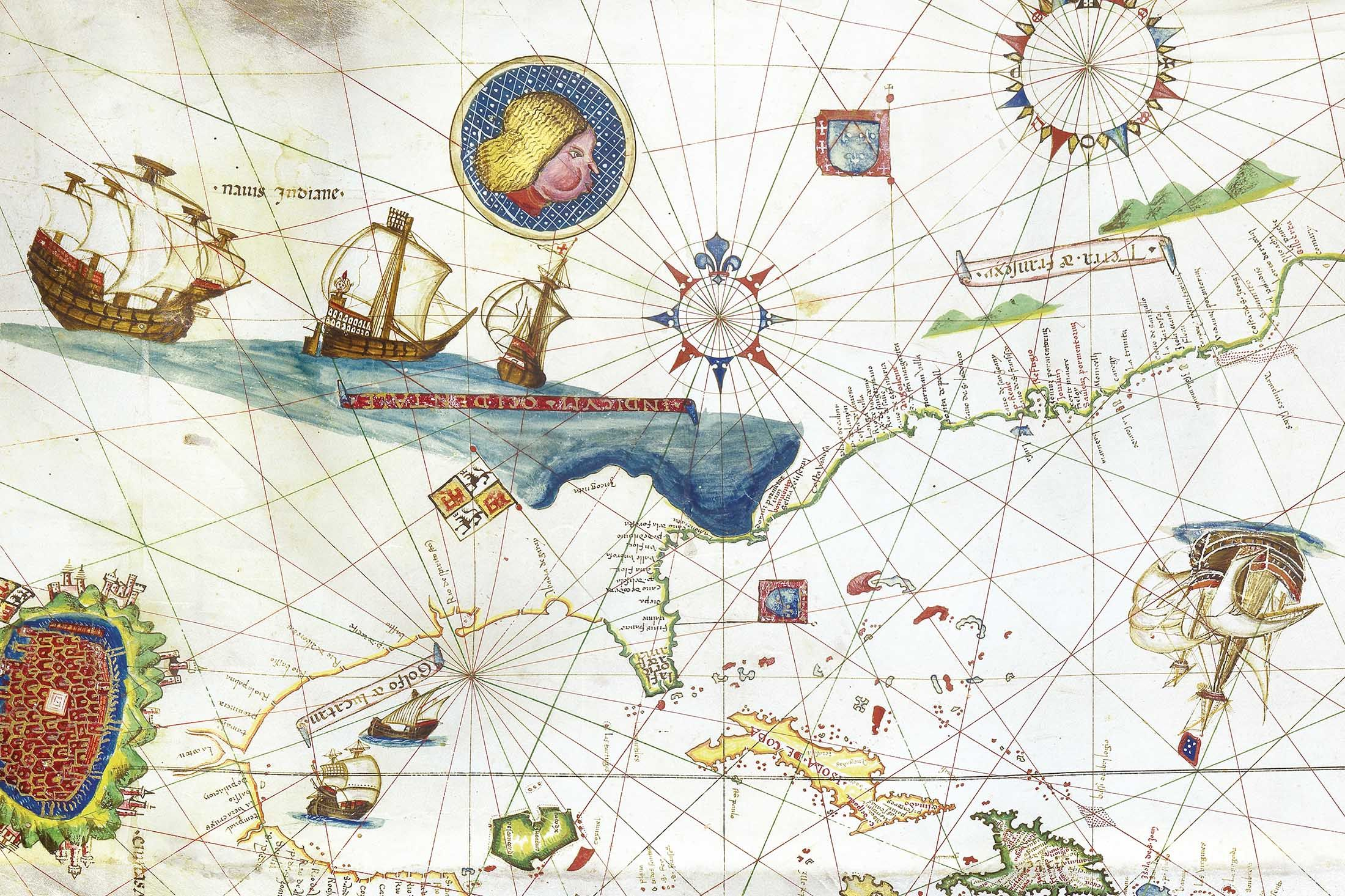 The Oldest Map of New York Is Drawn on Goat Skin, Costs $10