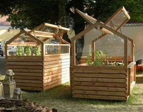 Hochbeet Und Gewachshaus In Einem Flora Pinterest Gardens