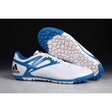 los angeles 5bd36 83cb6 Shop Adidas Messi 15.3 online - Adidas Messi 15.3 TF White Prime Blue Core  Black B25456 Soccer Shoes