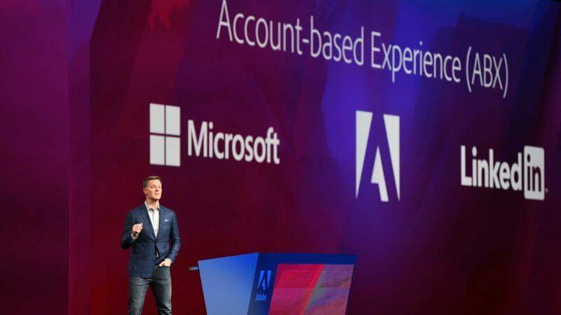 Adobe unveils new, deeper partnerships with Microsoft, Drift, Roku