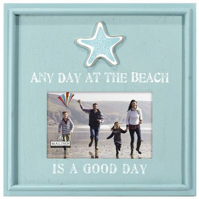 Malden Any Day at the Beach Picture Frame