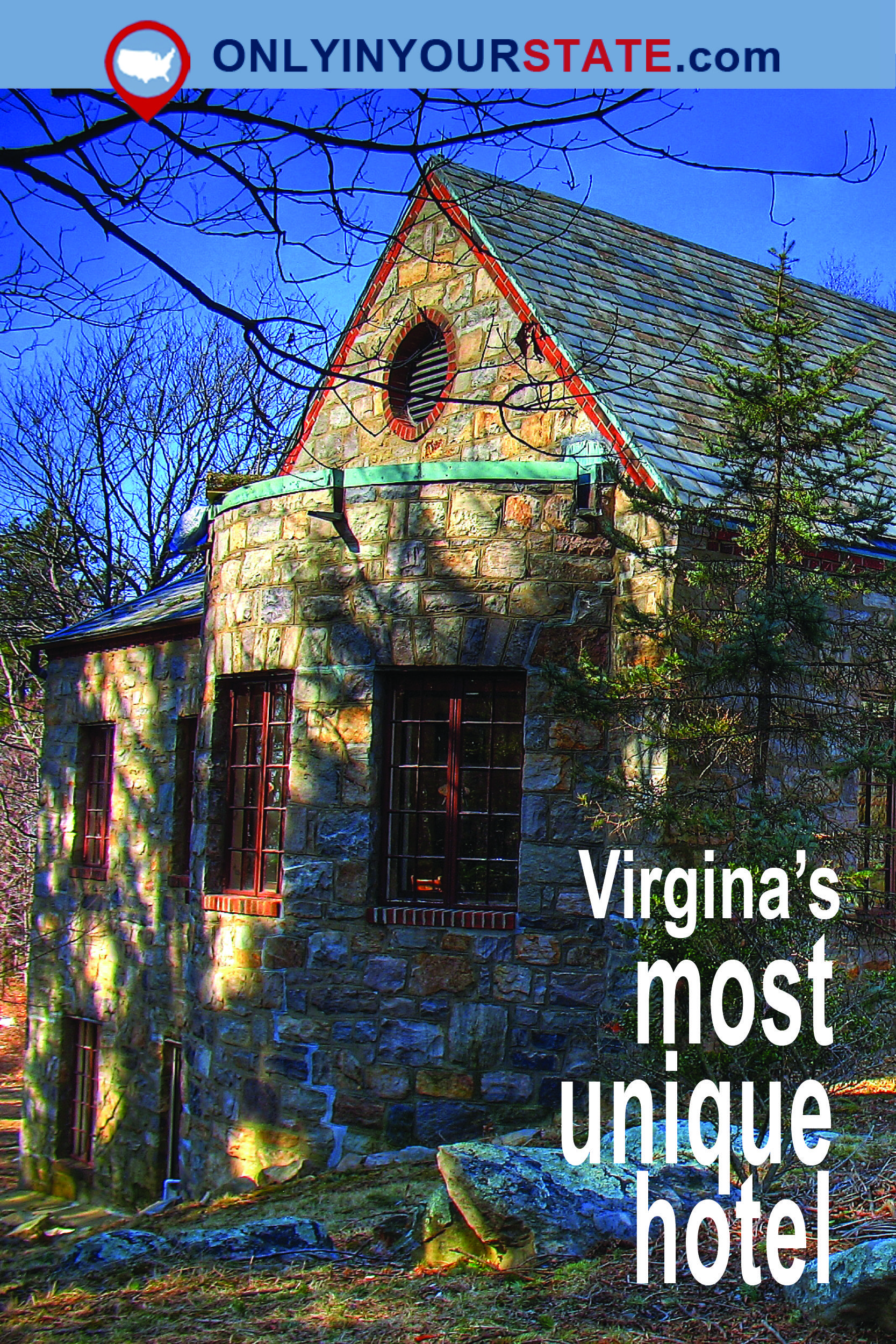 Travel Virginia Unique Architecture Places To See Stay Bear S Den Hiking Alachian Trail