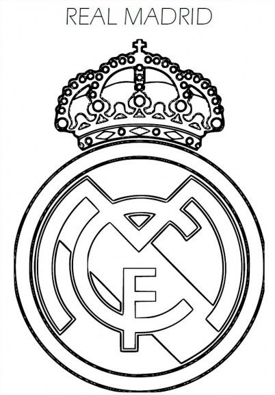 Coloring Soccer Logos Google Leit Real Madrid Logo Logo Real