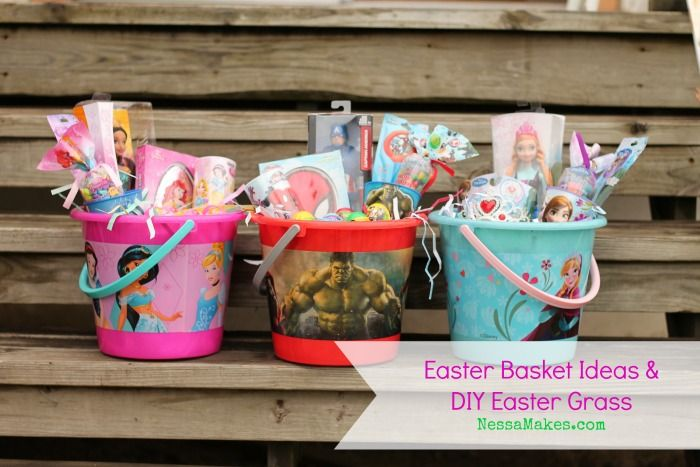 Diy easter grass easter basket ideas for boys and girls nessa easter diy easter grass easter basket ideas negle Image collections