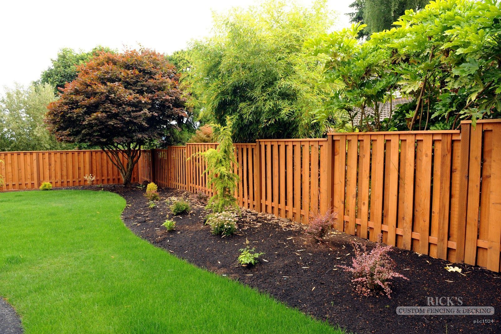 Good Neighbor Cedar Fences By Ricks Fencing Serving OR WA - 5 backyard fence types
