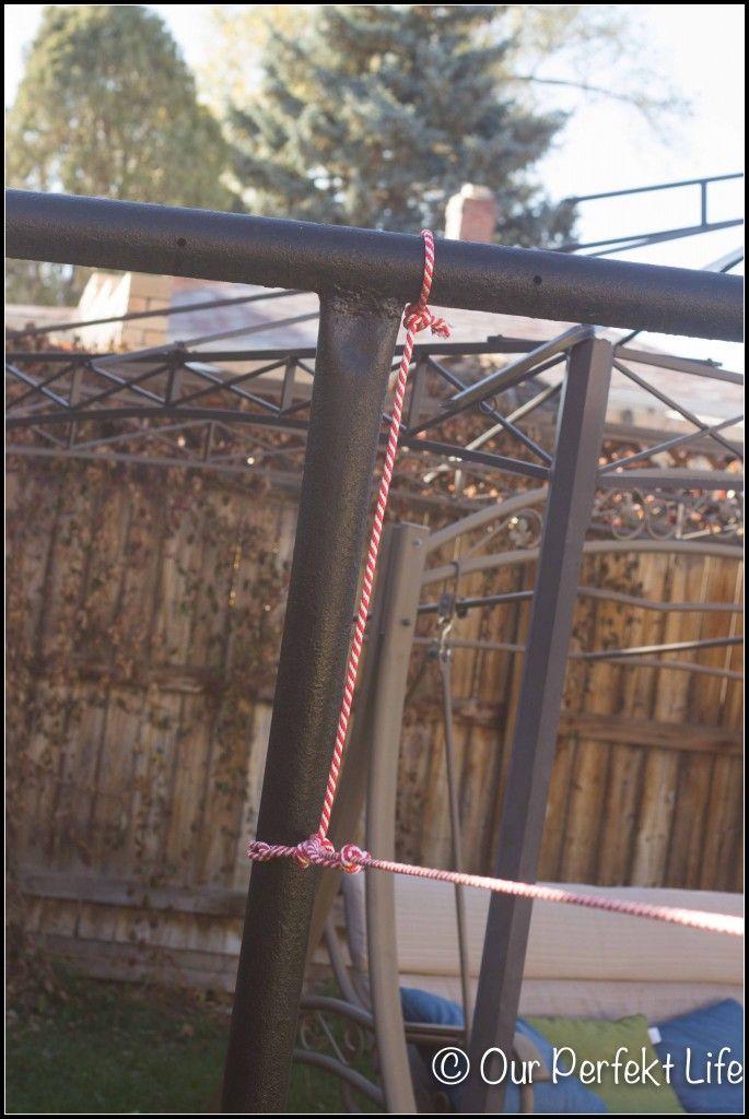 DIY Backyard Zipline   Zip line backyard, Diy backyard ...