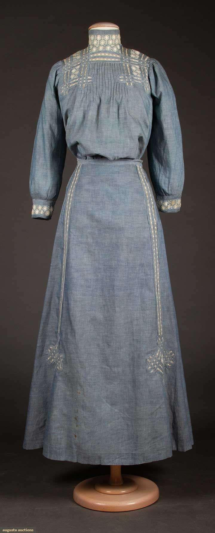 24++ Edwardian day dress info