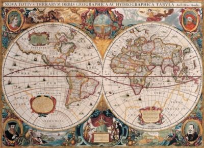 Antique world map 1000pc jigsaw puzzle by eurographics jigsaw antique world map 1000pc jigsaw puzzle by eurographics gumiabroncs Image collections