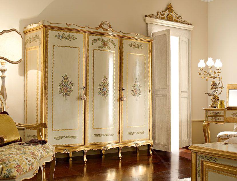 armadi classici e di lusso in stile veneziano e fiorentino