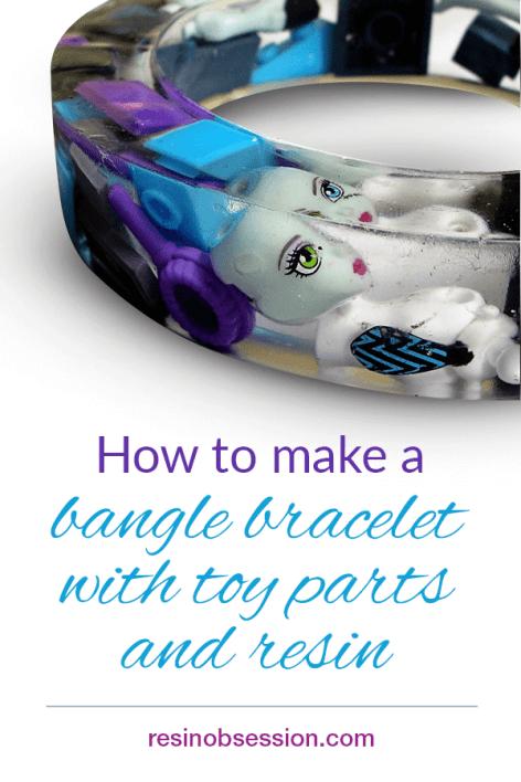 Resin Casting Bangle Bracelet Toy