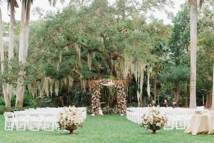 Rustic Chic Miami Wedding At Kampong Botanical Gardens Botanical