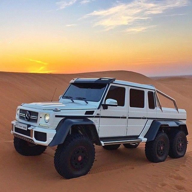 Mercedez Benz Jeep: Mercedes-Benz G 63 AMG 6x6 (Instagram @mercedesbenzkwt