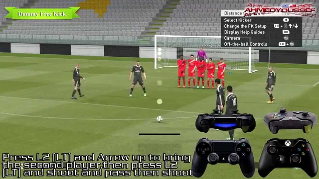 Nice Pes 2015 Absolutely Free Kick High Definition Tutorial