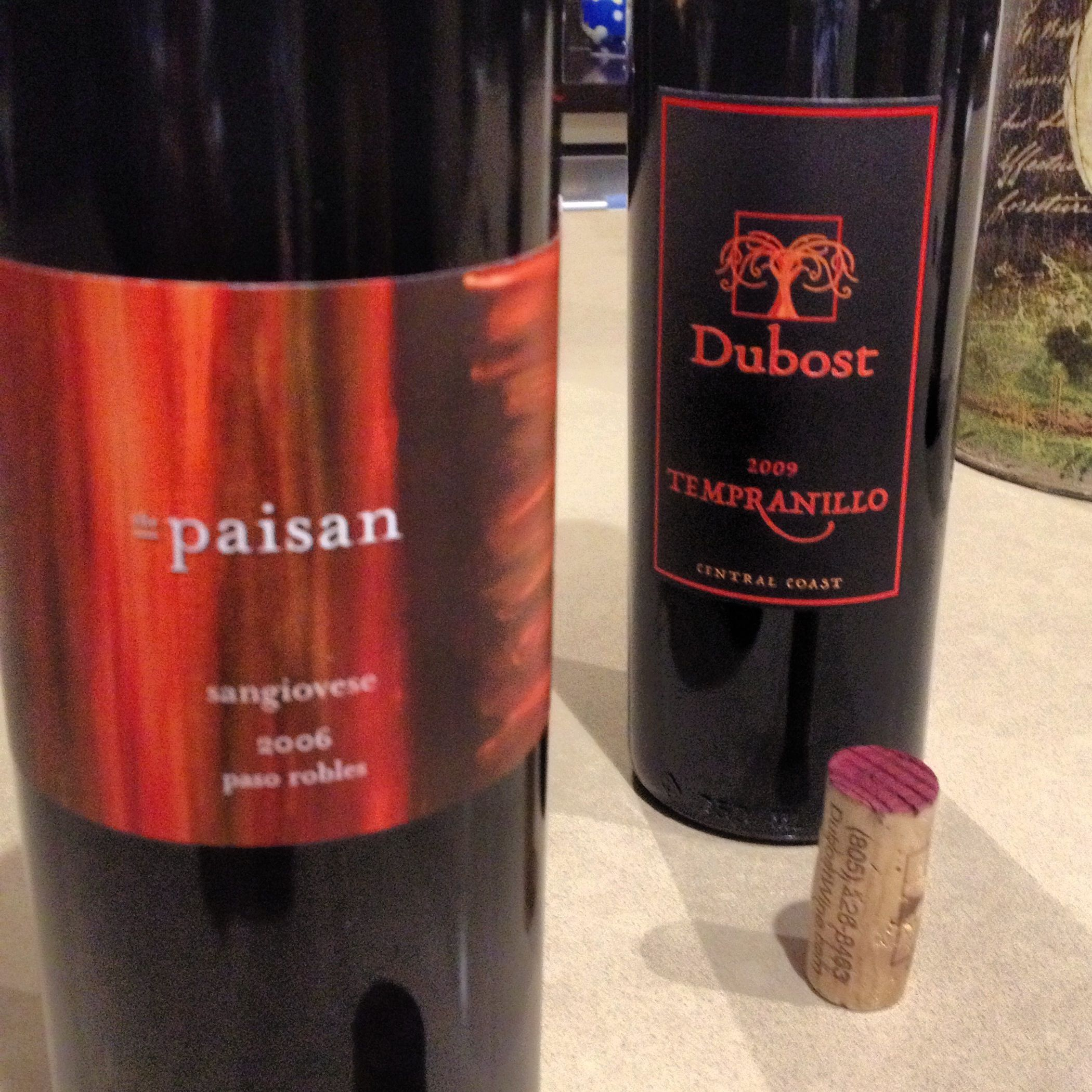 Wcp And Dubost Winery Wine Bottle Tempranillo Cola