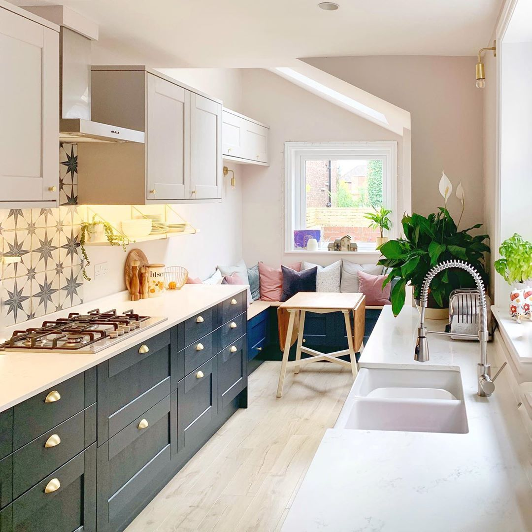 20 Beautiful Galley Kitchen Ideas