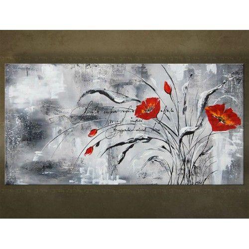 Prachtig olieverf schilderij van bloemen https www for Schilderijen van bloemen