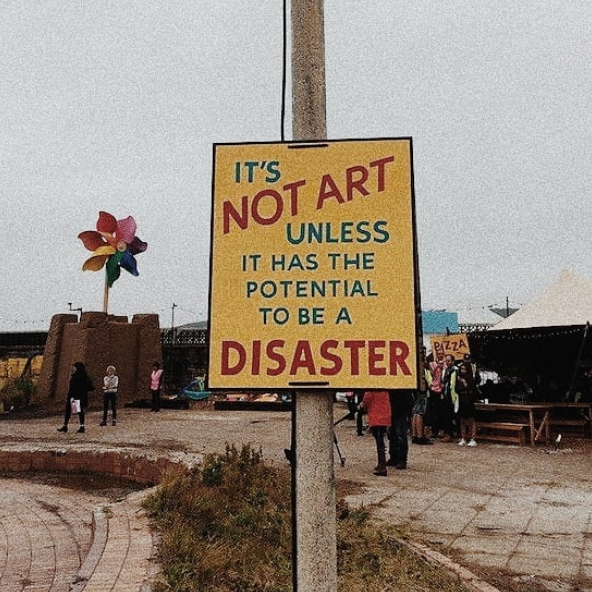 #Education aesthetic Art is a disaster