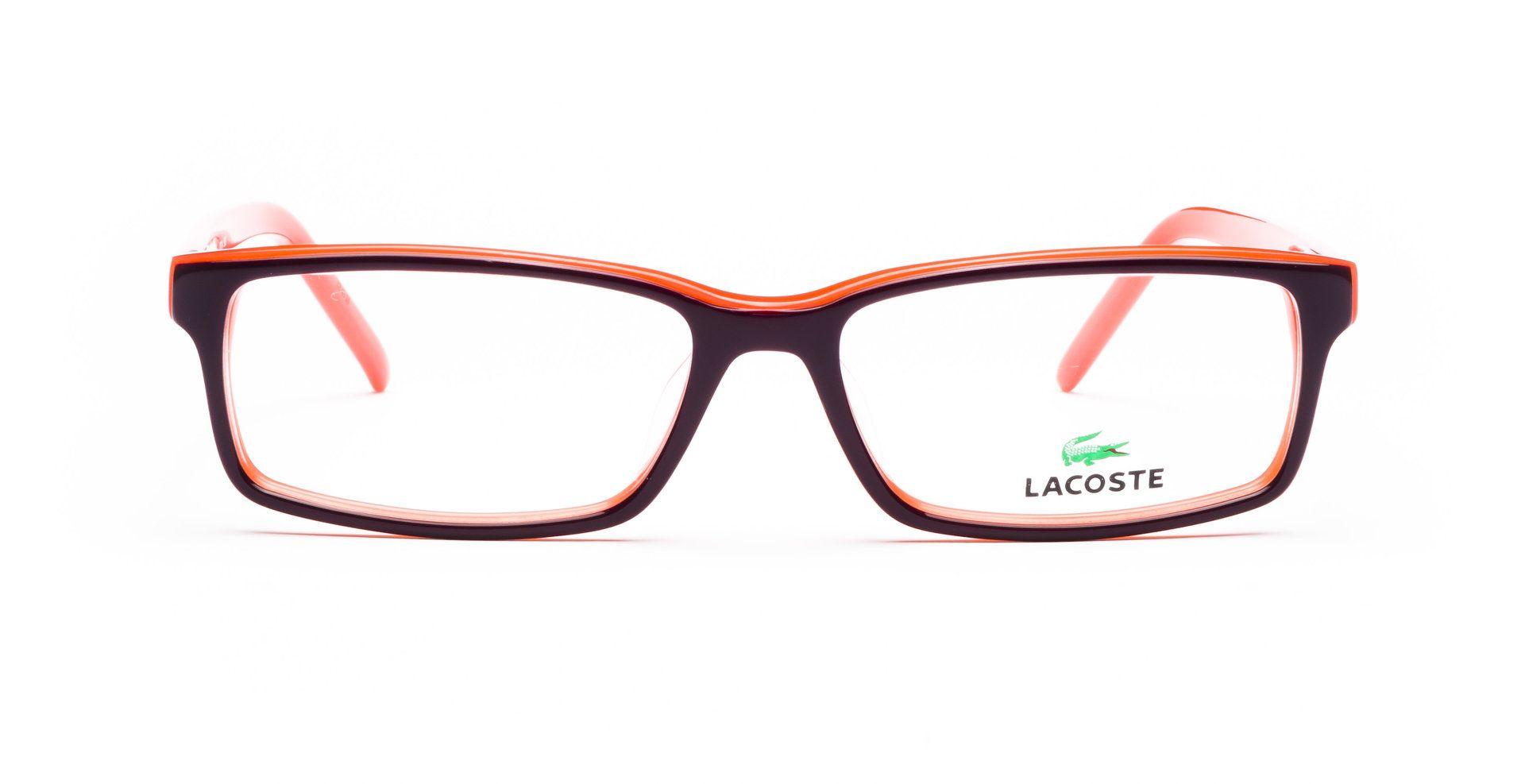 Lacoste | Glasses | Brille | L2614 503 5216 | Wine/Orange ...