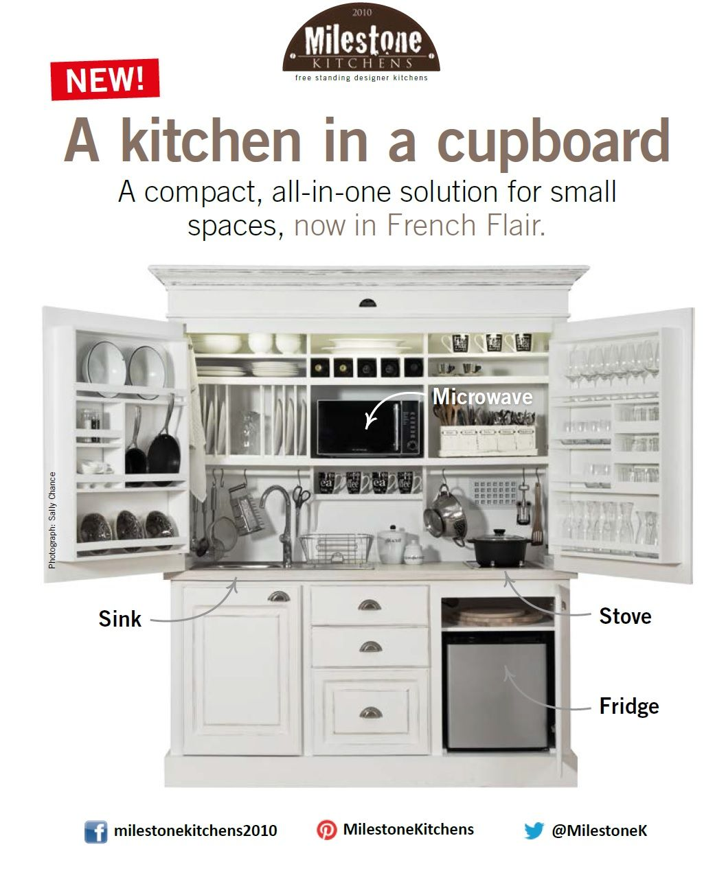 Milestone Kitchens Has A Special Buy An Entire Kitchen And A Cupboard For The Price Of One Kitchen Unit Designs Kitchen Units Kitchen Utensils Store