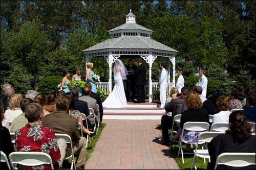 Gazebo Garden Wedding At The Beautiful Chapel In Pines