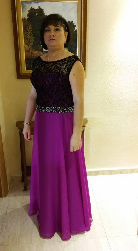 Vestido de invitada a #boda diseñado y confeccionado por ...