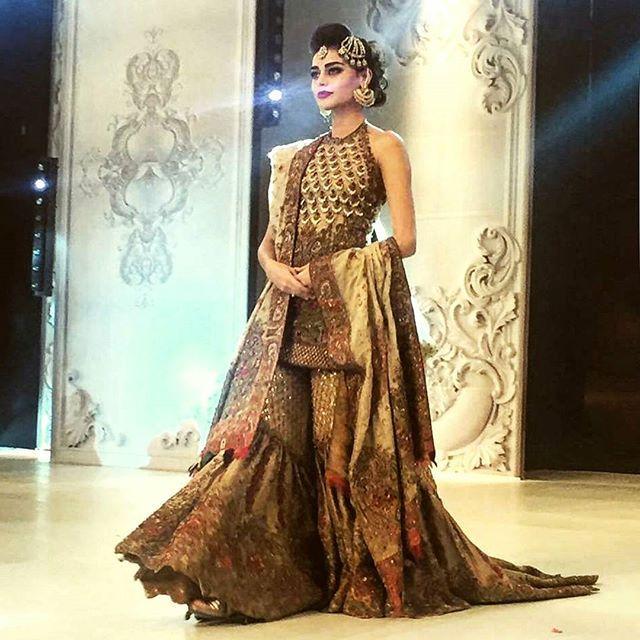 4fcc79a08e Gorgeous Sadaf kanwal in farah and fatima bridal #farahandfatima #plbw16 # sadafkanwal
