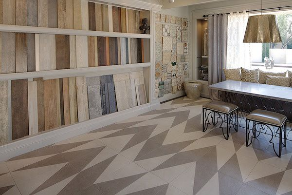 The New Porcelain Collection Gallery Showcases Our Advance Collection In A  Zig Zag Pattern At · Modern Floor TilesWall ...